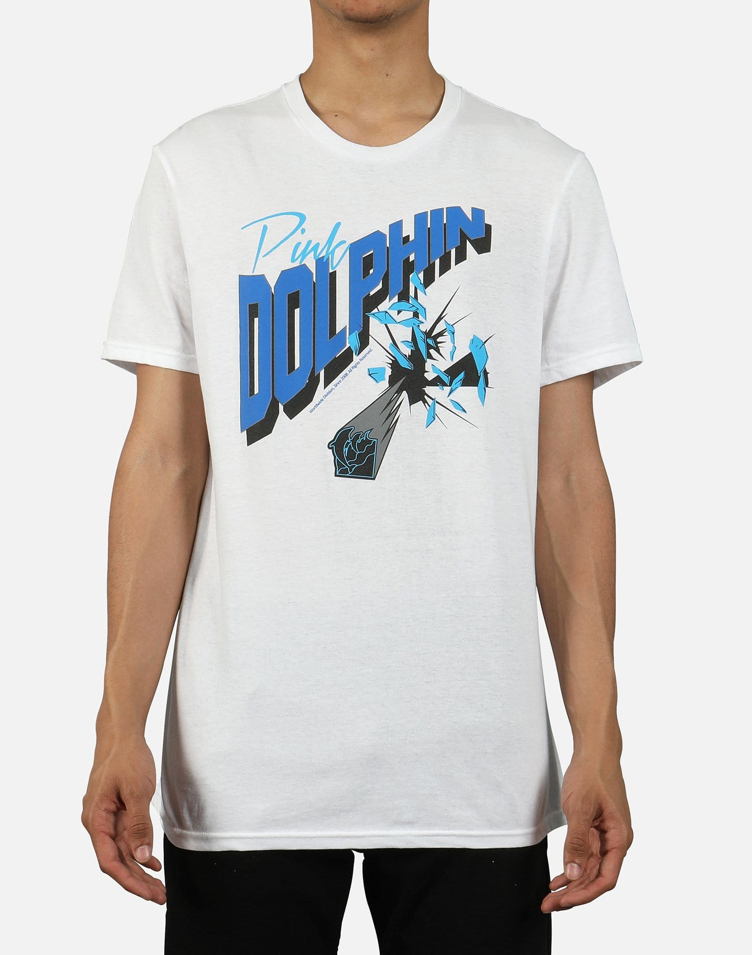 Pink Dolphin Men's Glass Shatter Tee