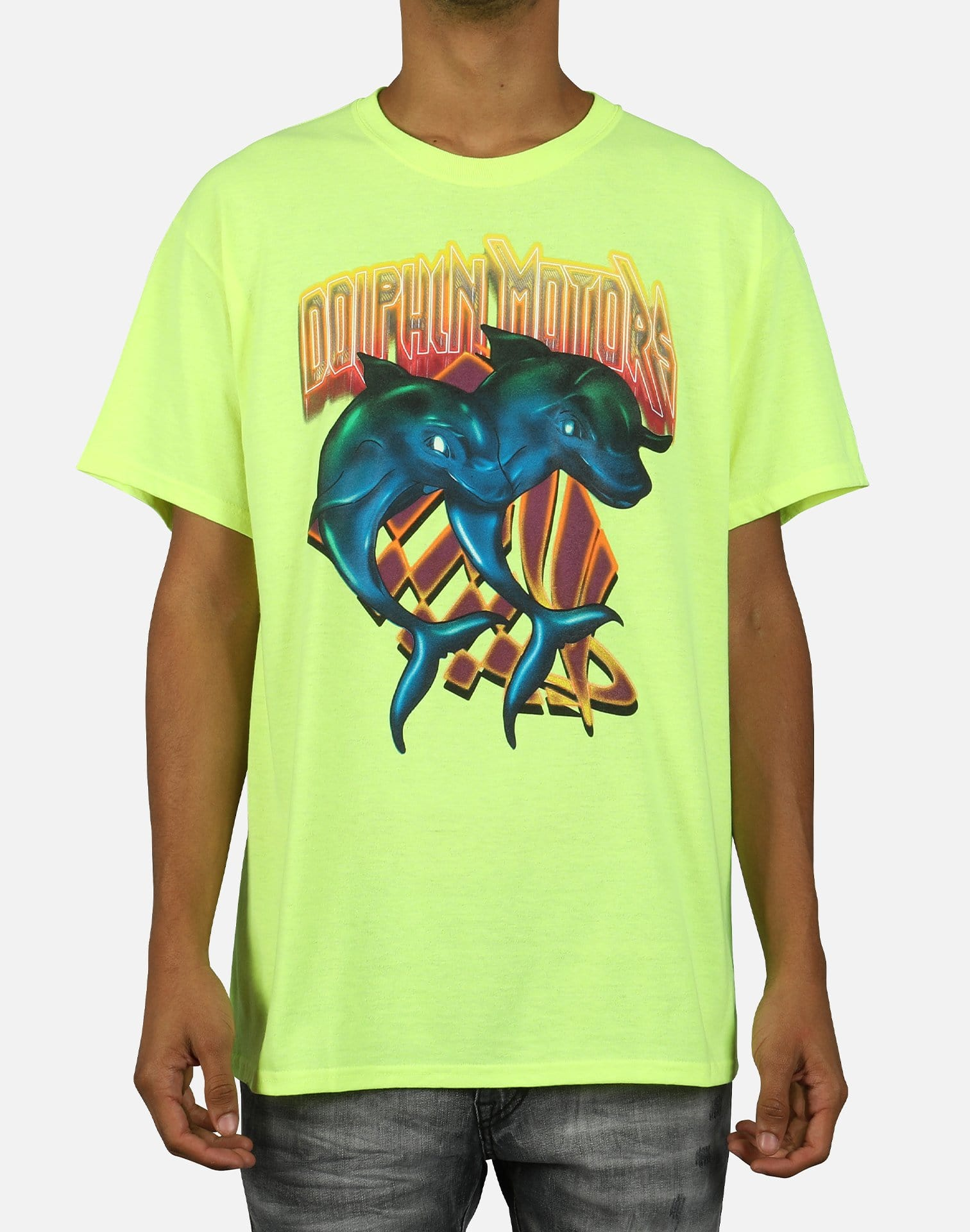 Pink Dolphin Men's Double Dolphin Tee