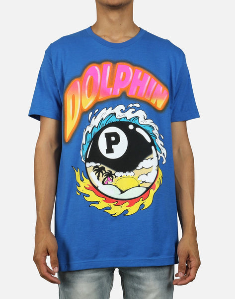 Pink Dolphin Men's 8-Ball Tropics Tee