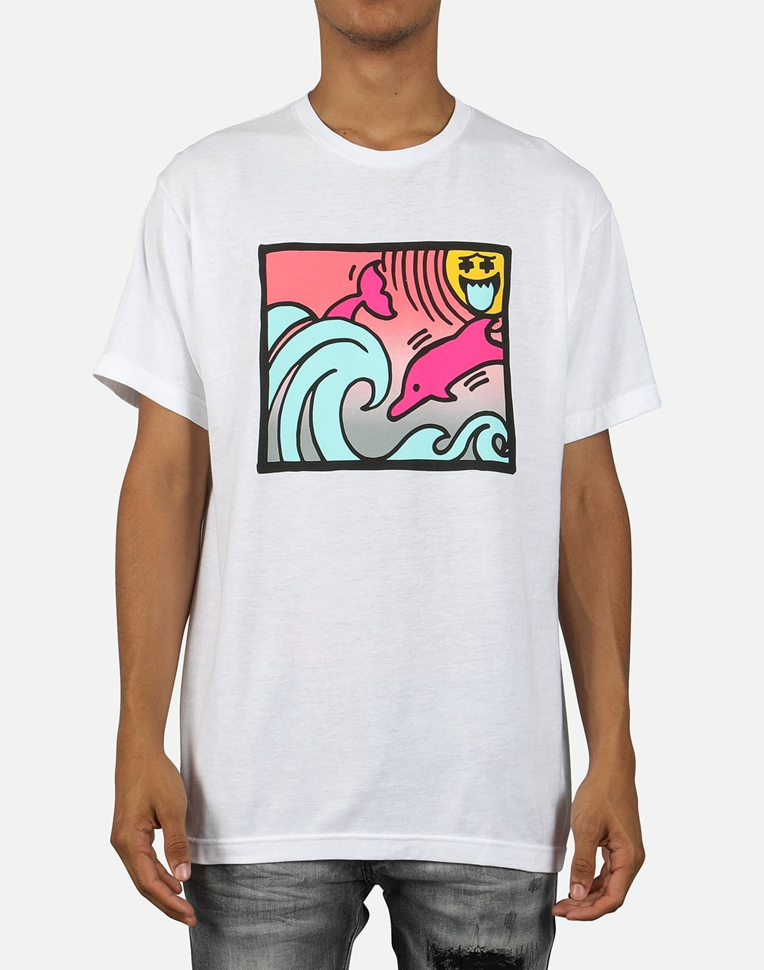 Pink Dolphin Men's Ghost Rays Tee