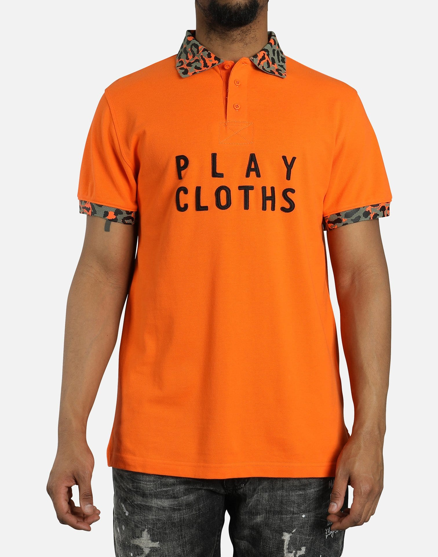 Play Cloths Amur Polo Shirt