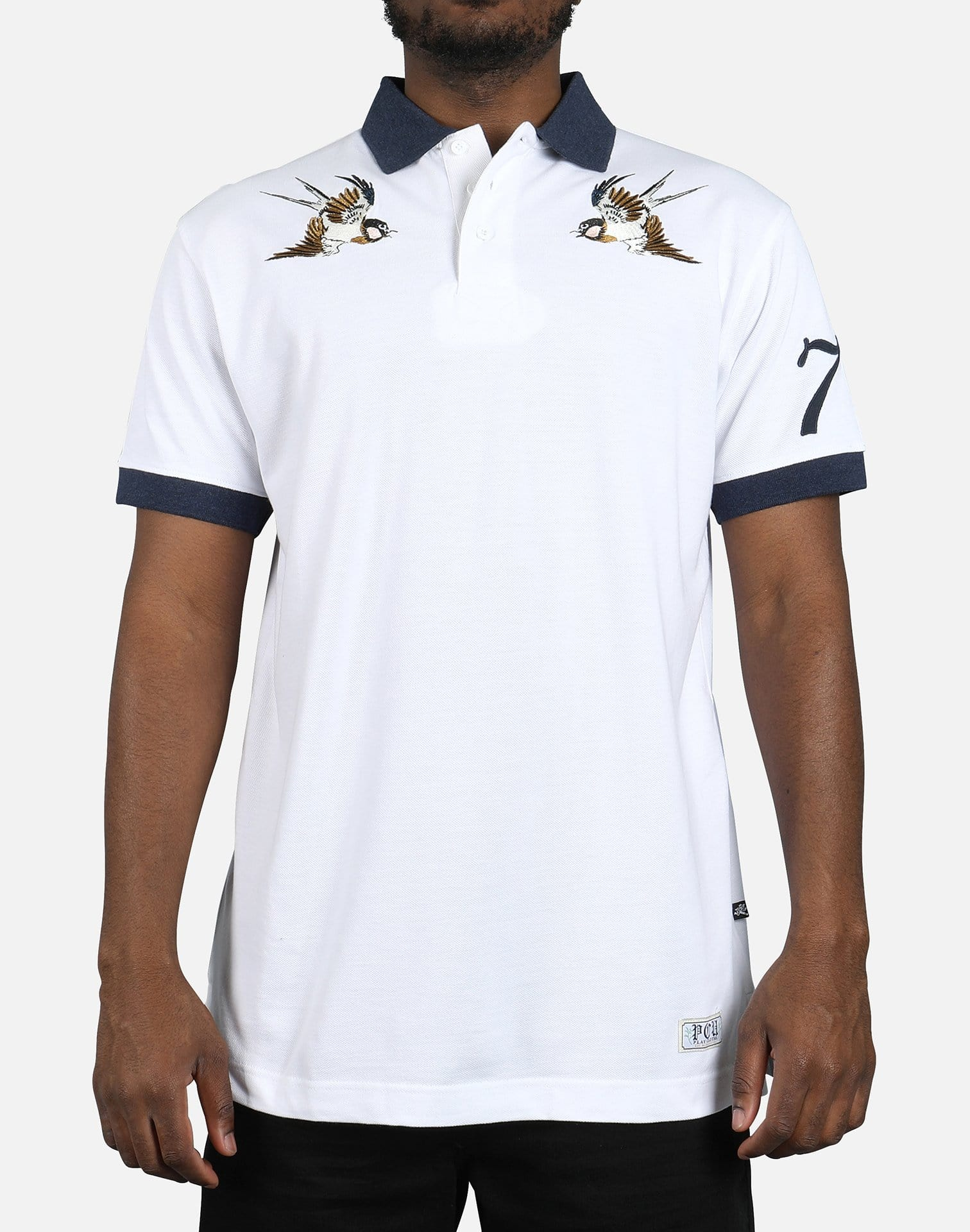 Play Cloths Free Birds Polo Shirt