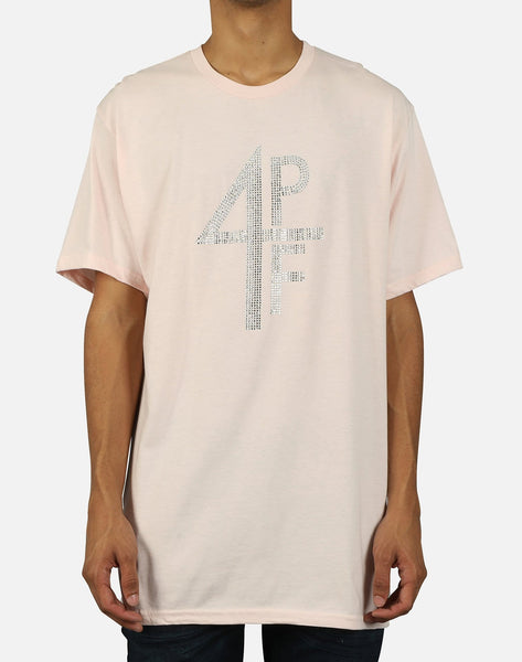 Prvte Apparel Group Inc. Men's 4PF Rhinestone Tee