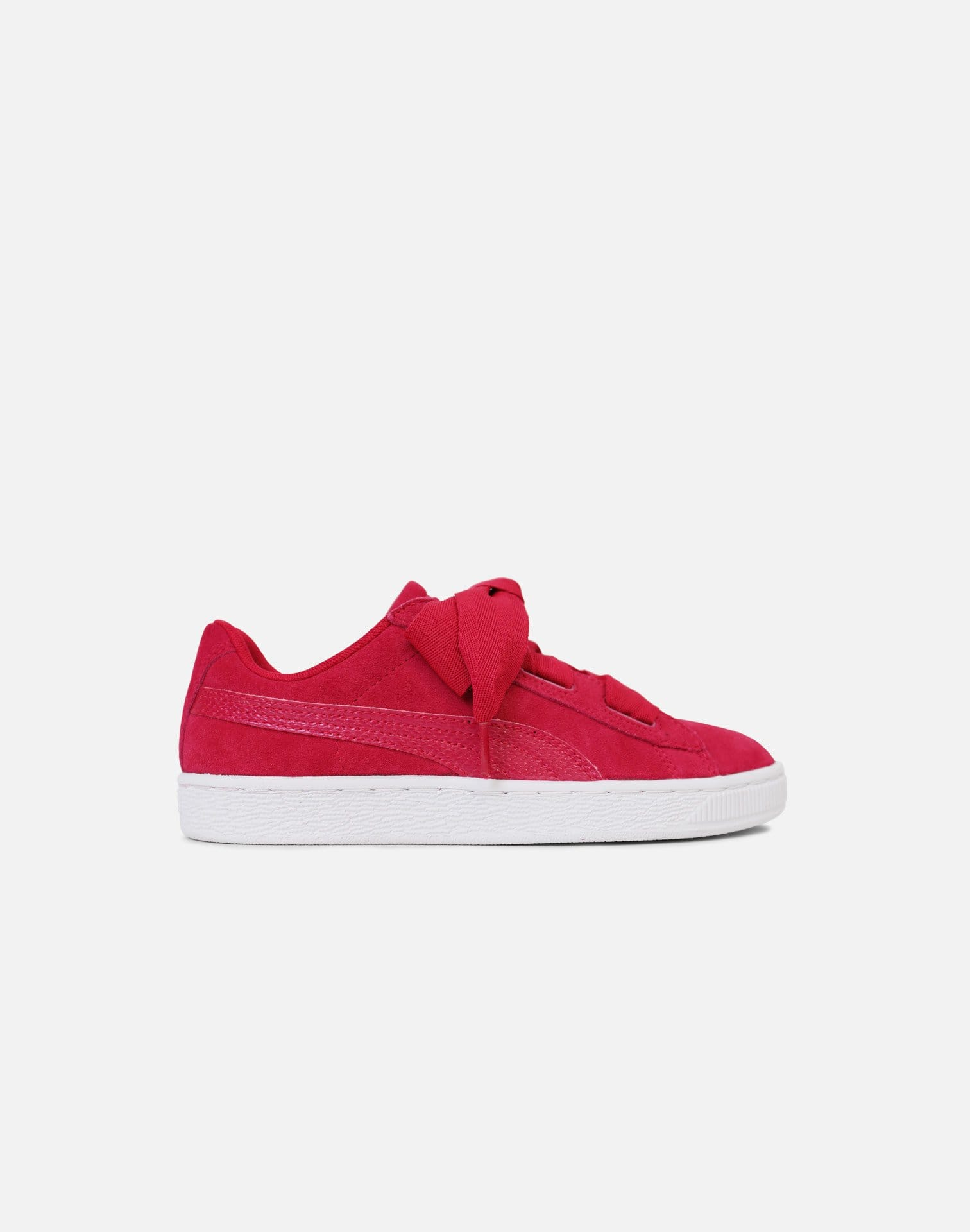 Puma Suede Heart Grade-School (Rose Violet/White)