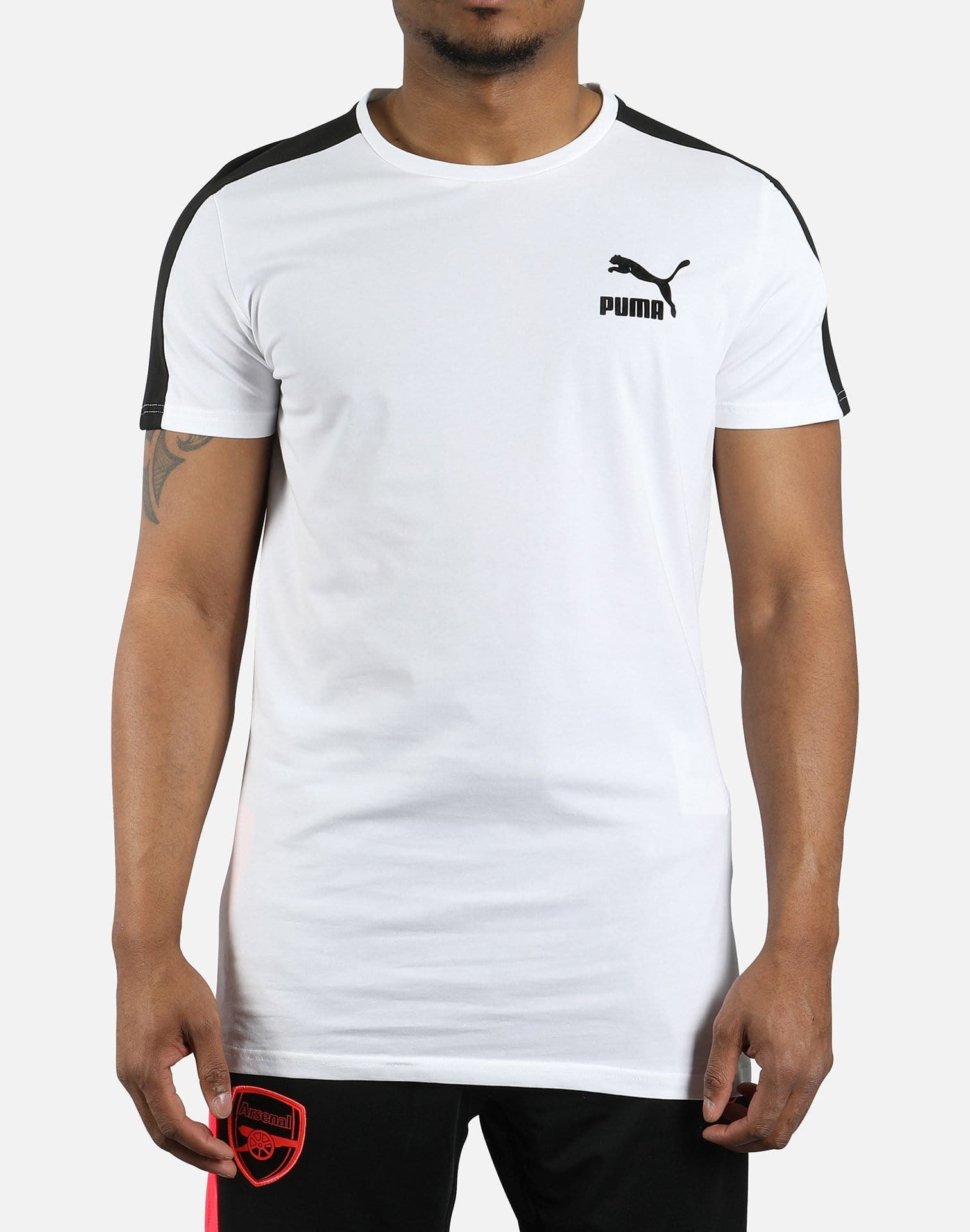 PUMA Men's Archive T7 Stripe Tee