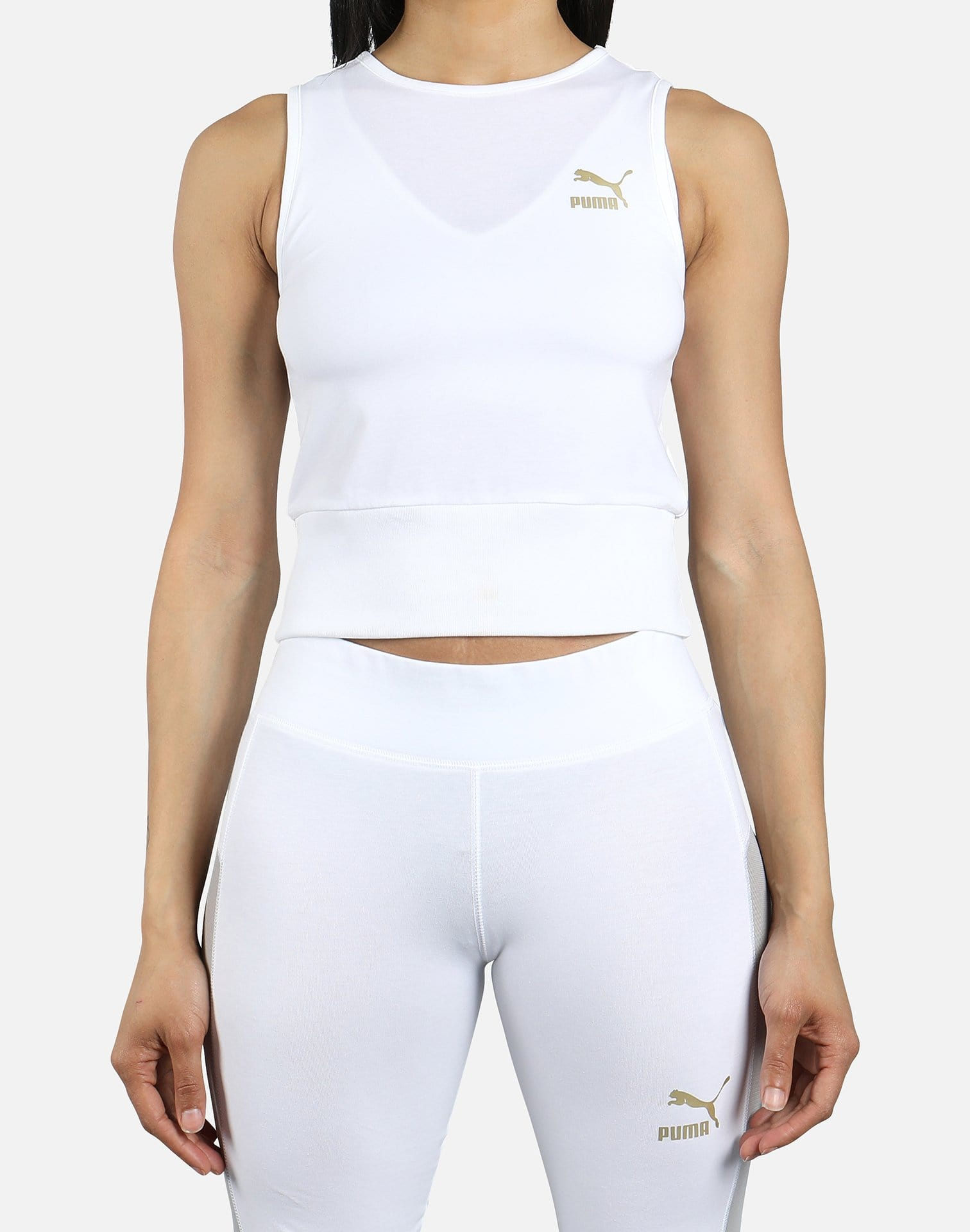 PUMA Women's Cropped Tank Top