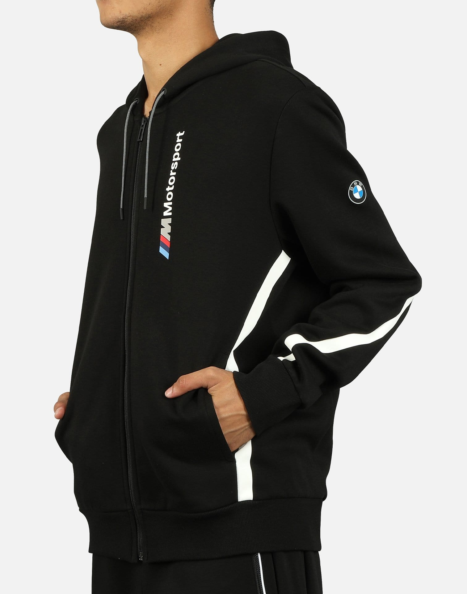 PUMA Men's BMW Motorsport Hooded Sweat Jacket