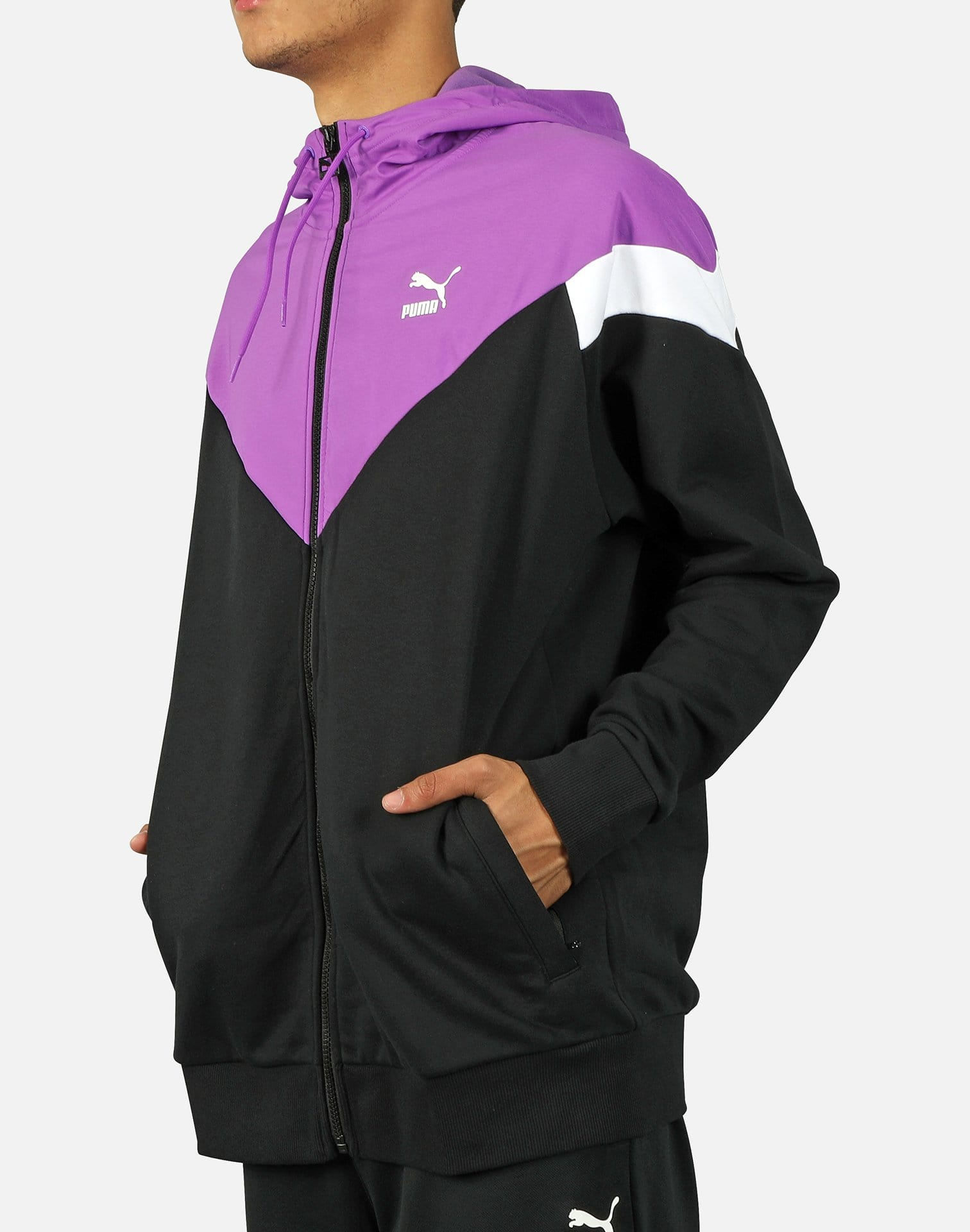 PUMA Men's Iconic MCS Full-Zip Hoodie