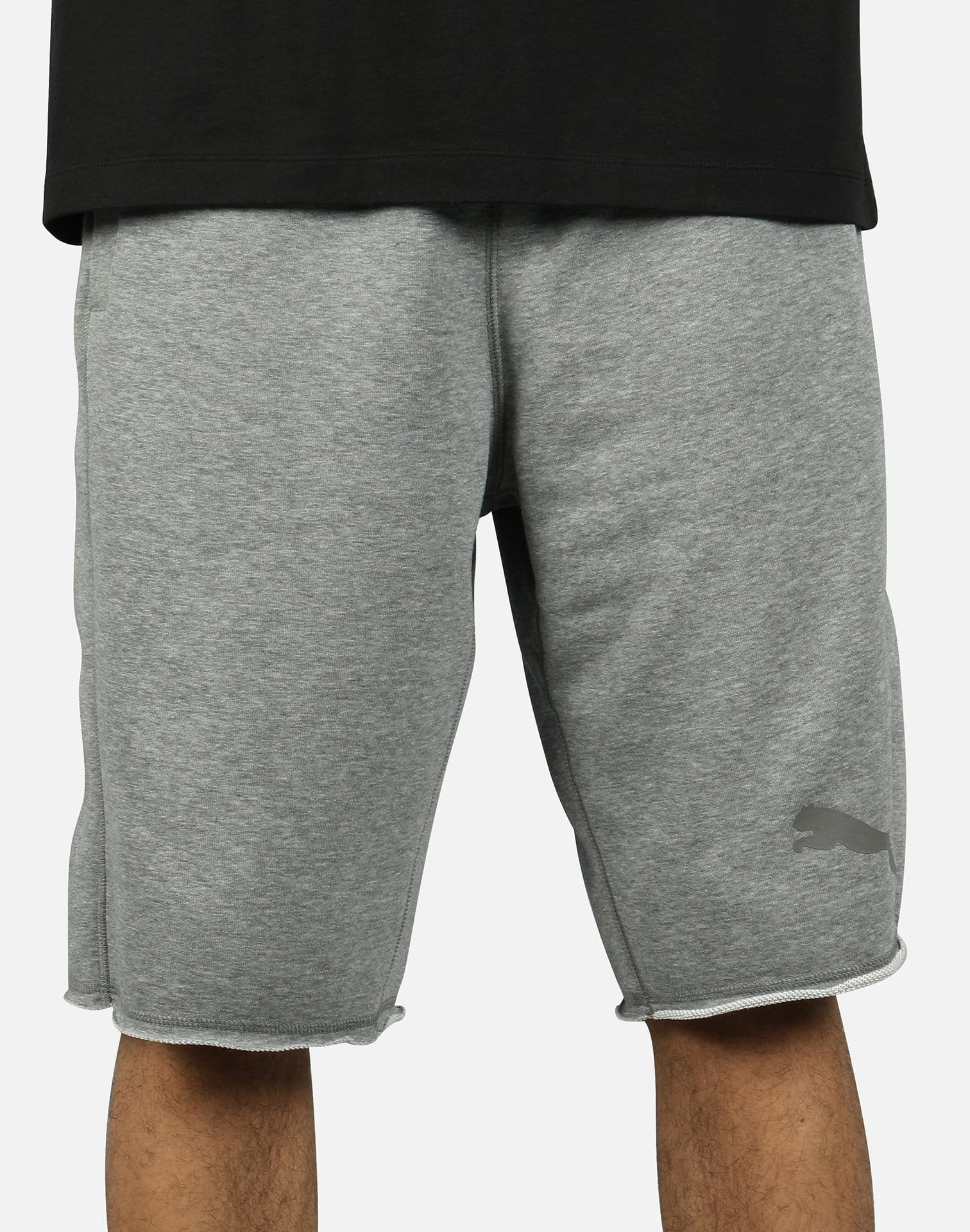 MENS PUMA BERMUDA SWEAT SHORTS