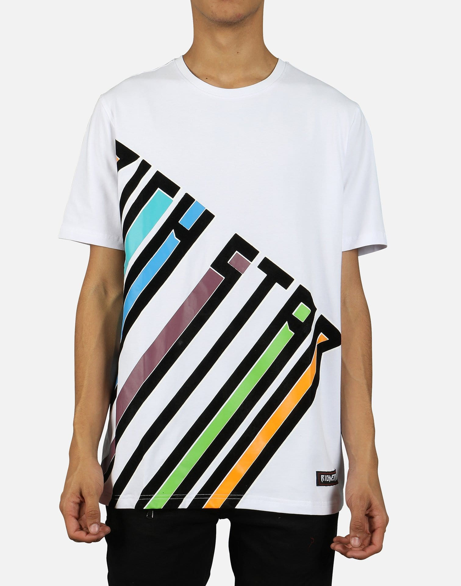 Rich Star Men's Colorful 'Rich Star' Tee