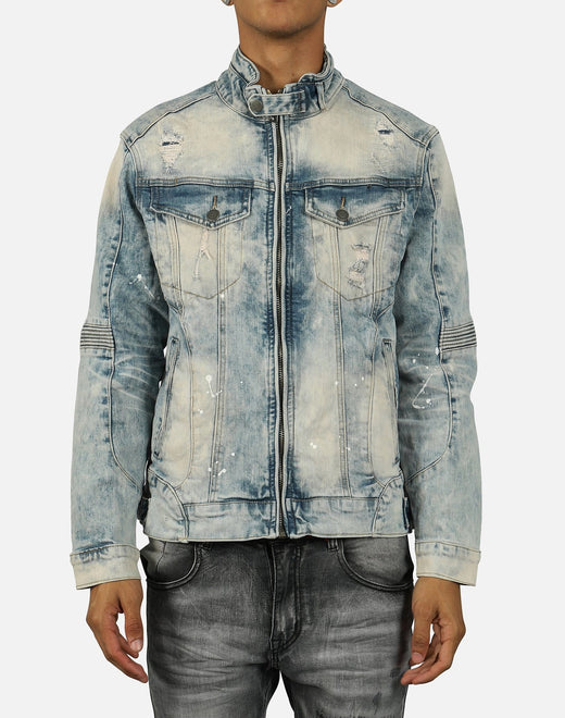Smoke Rise Men's Moto Jean Jacket