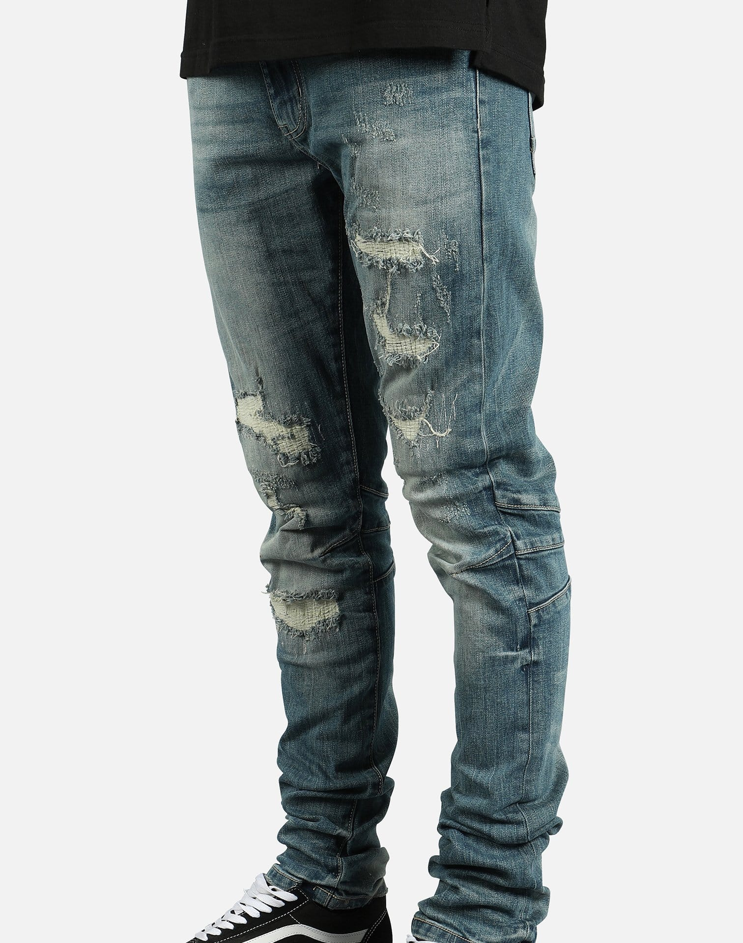 Smoke Rise Rip Off Distressed Jeans
