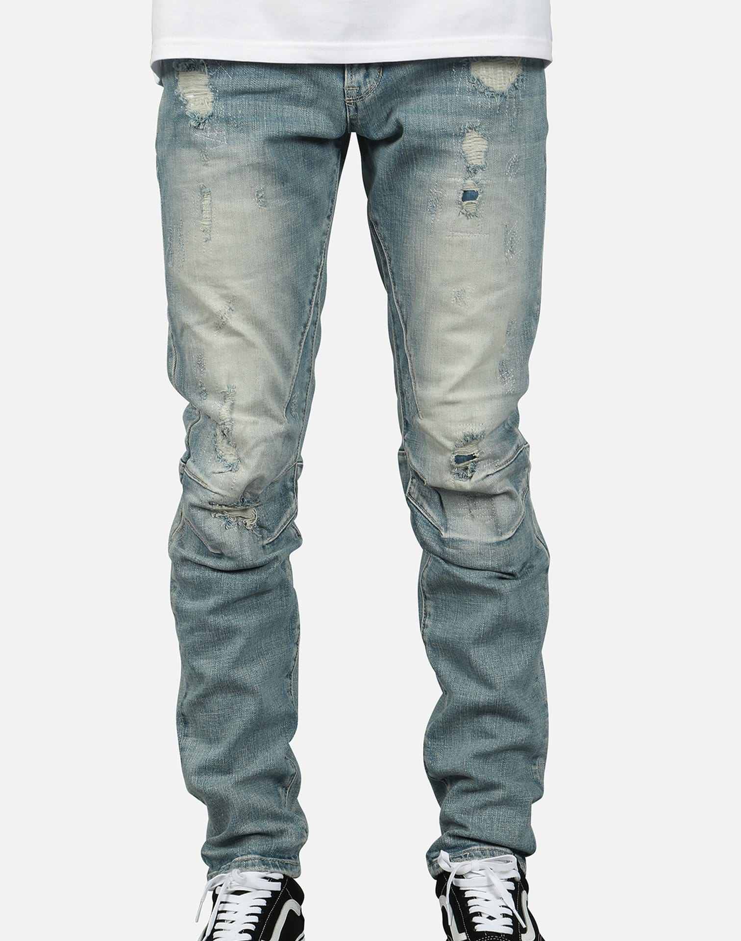 Smoke Rise Men's Distressed Knee Detail Jeans