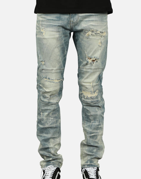 Smoke Rise Men's Slim Tapered Jeans