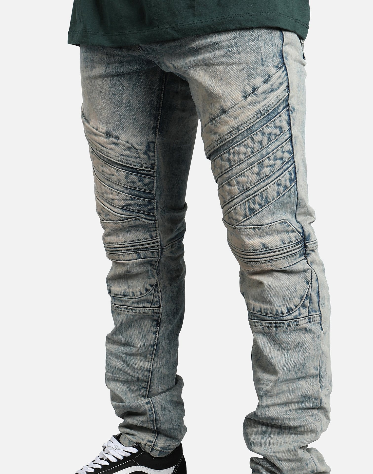 Smoke Rise Fashion Denim Jeans