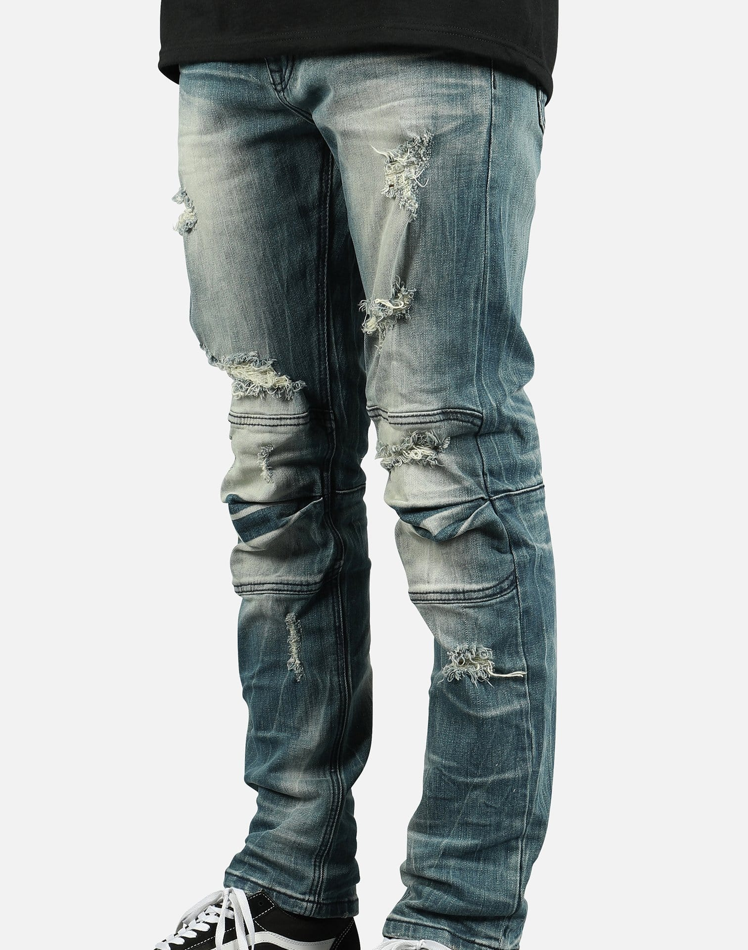 Smoke Rise Men's Distressed Knee Jeans