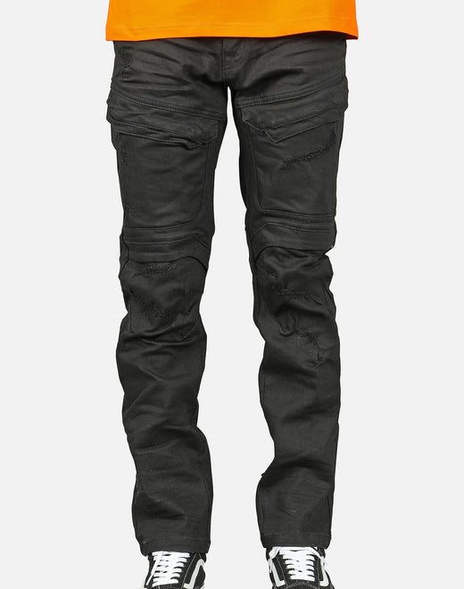 Smoke Rise Men's Thigh Detail Denim Jeans