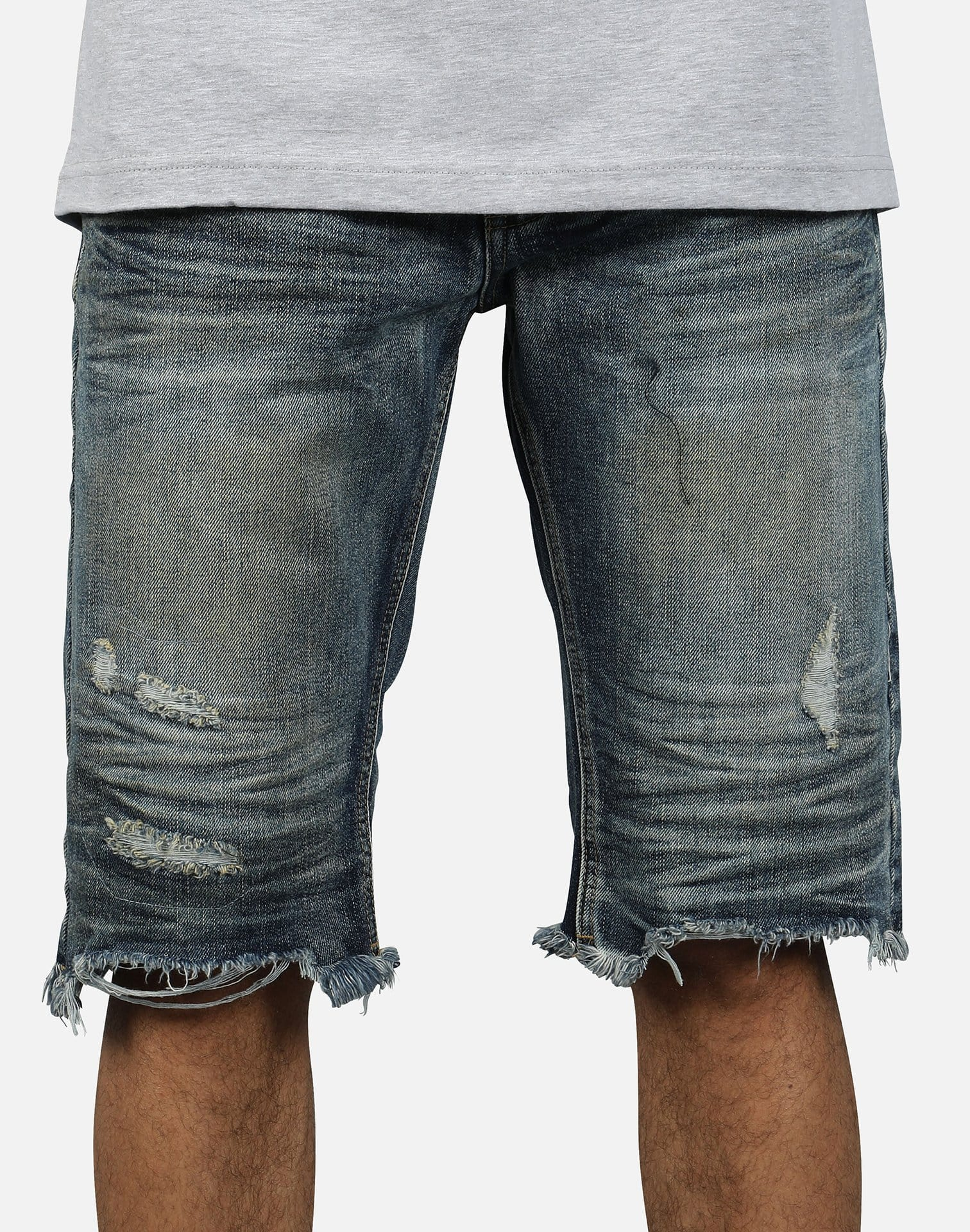 Smoke Rise Men's Ripped Jean Shorts