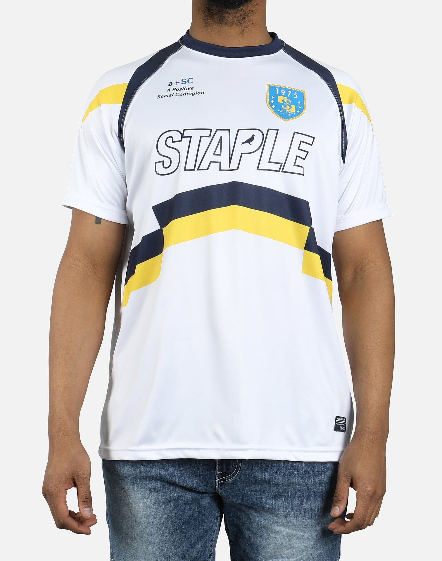 Staple Stripes Soccer Jersey