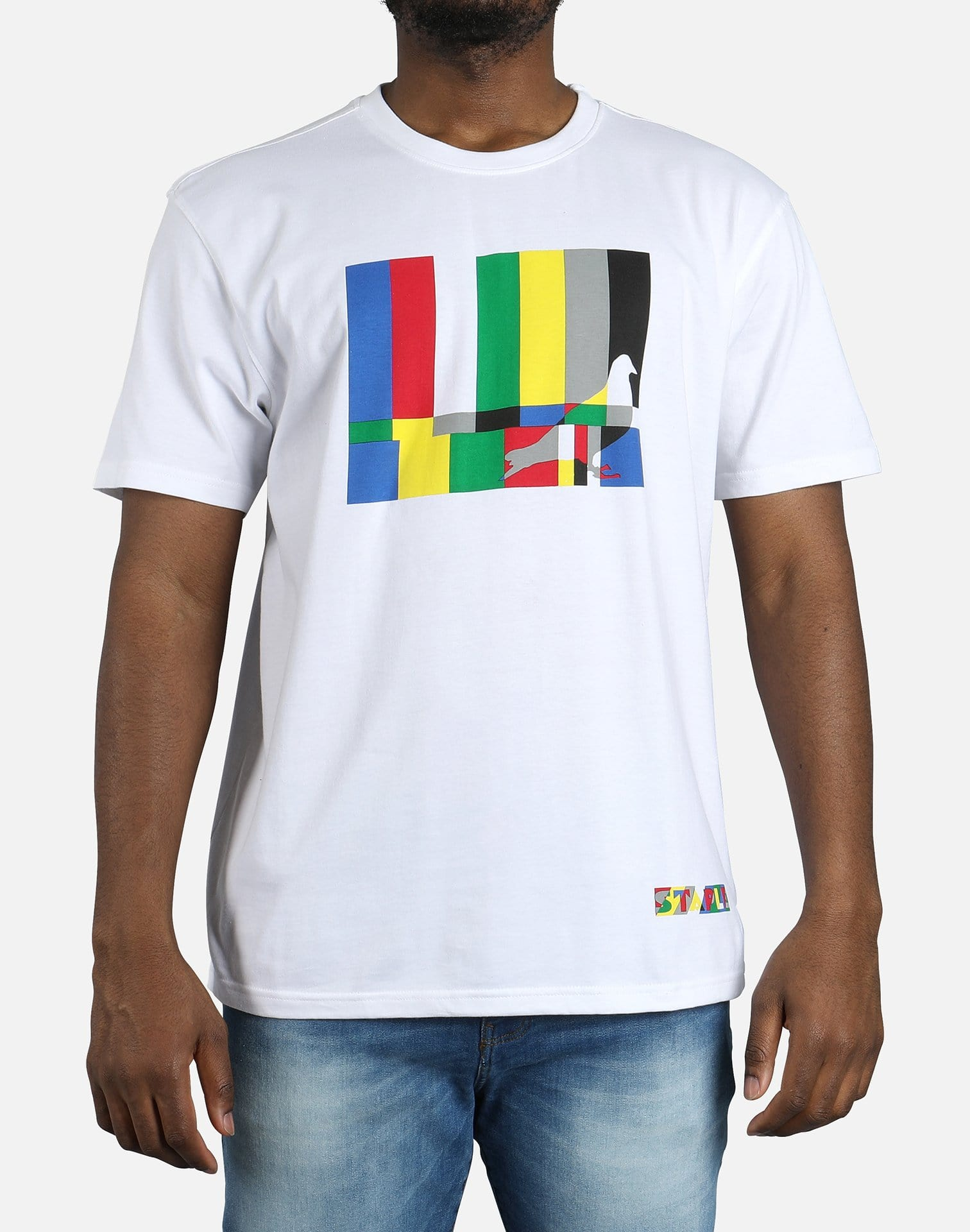 Staple Color Bars Short Sleeve Tee