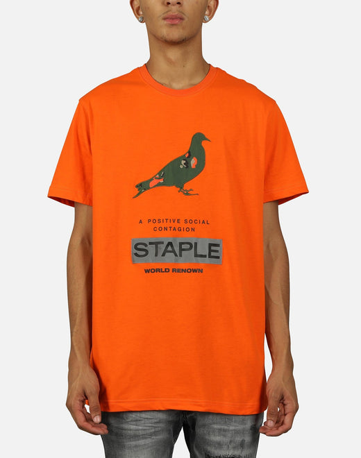 Staple Men's Nylon Camo Pigeon Tee