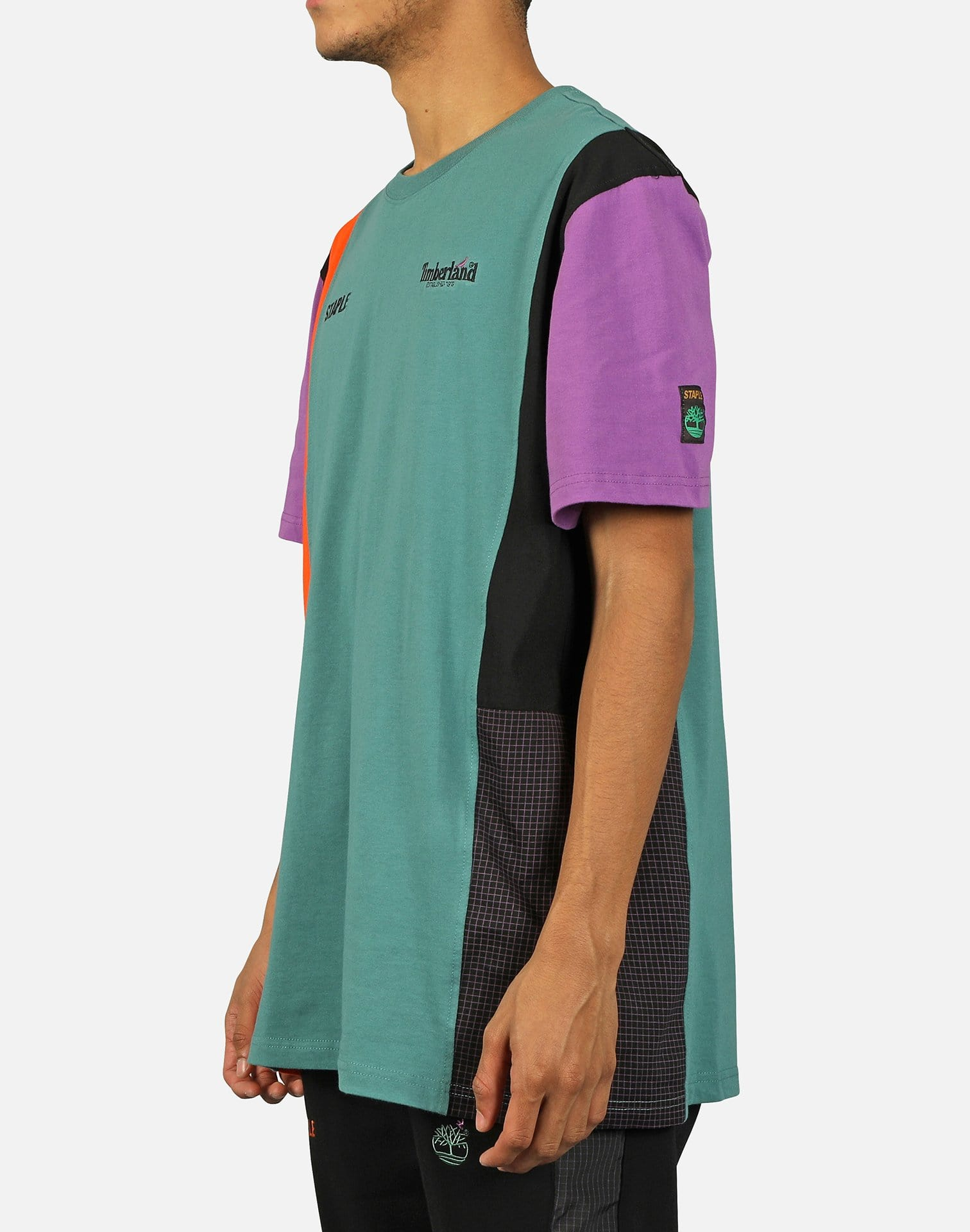 STAPLE BLOCKED TECH TEE