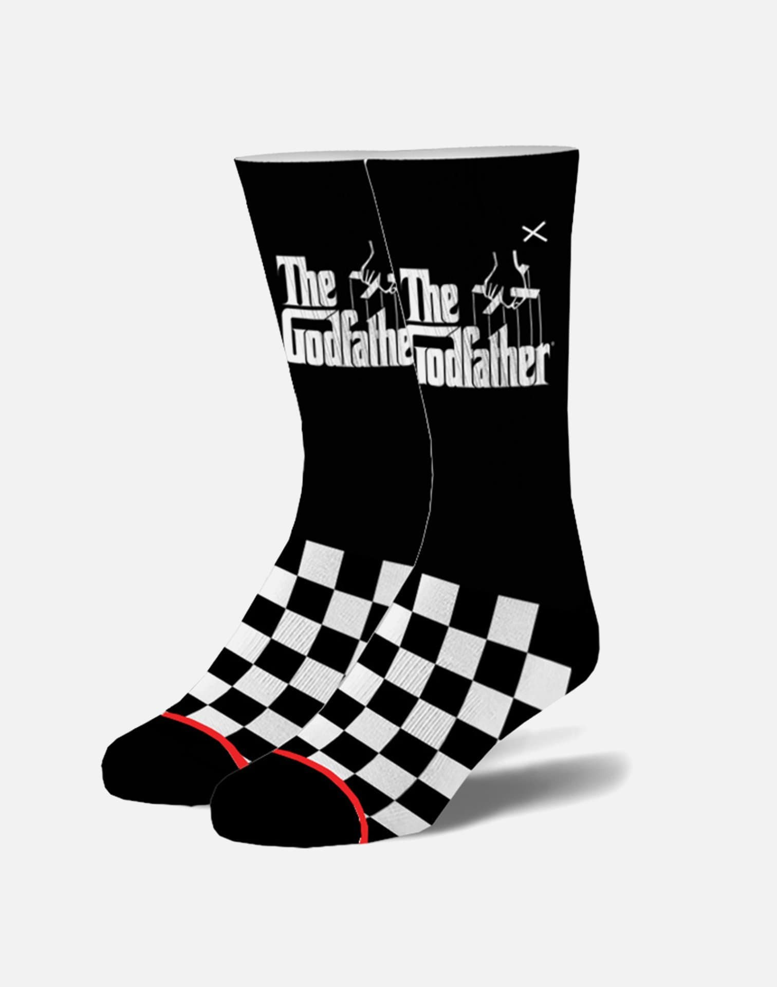 Odd Sox The Godfather Checkered Socks