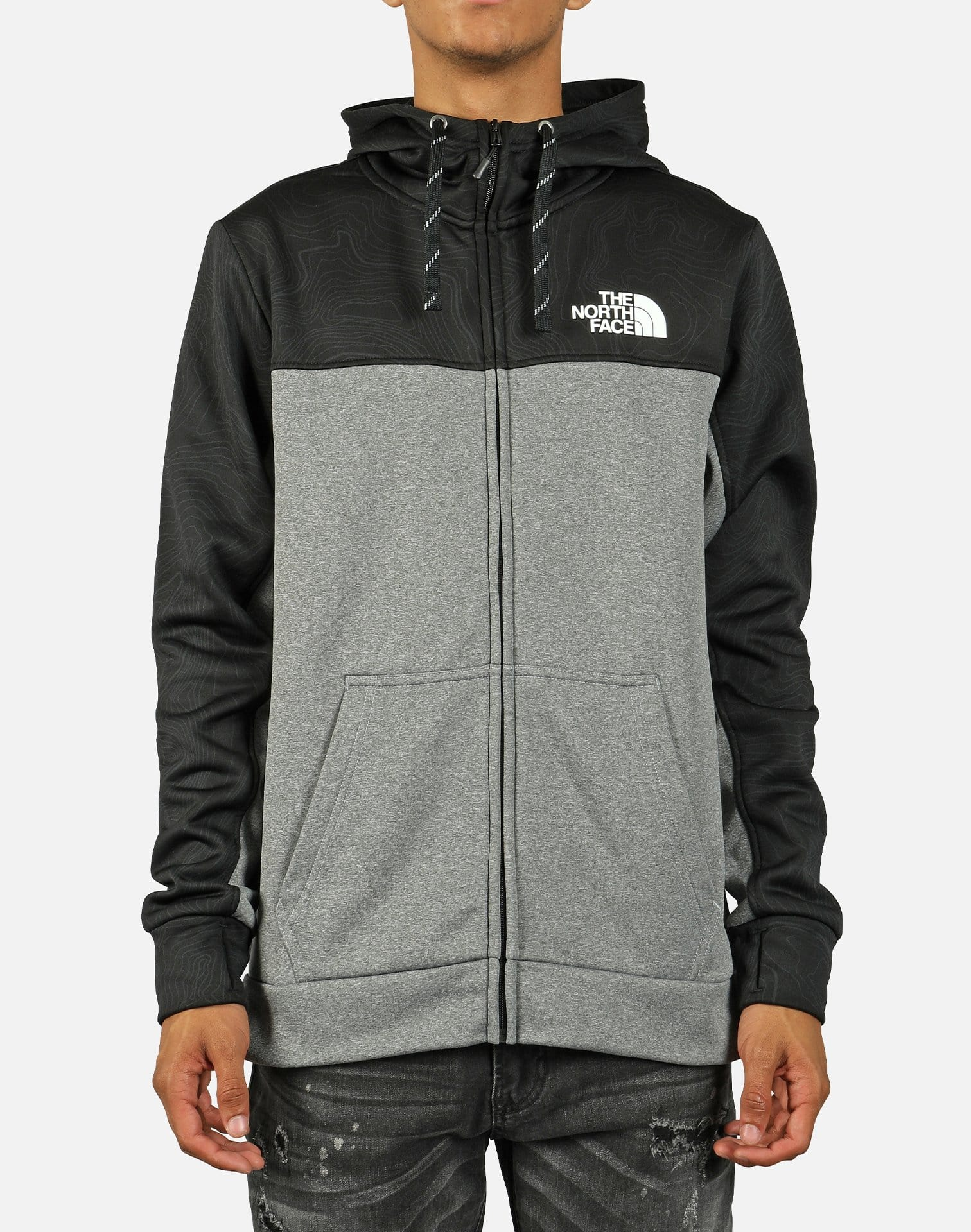 The North Face Men's Surgent Bloc Full Zip Hoodie 2.0