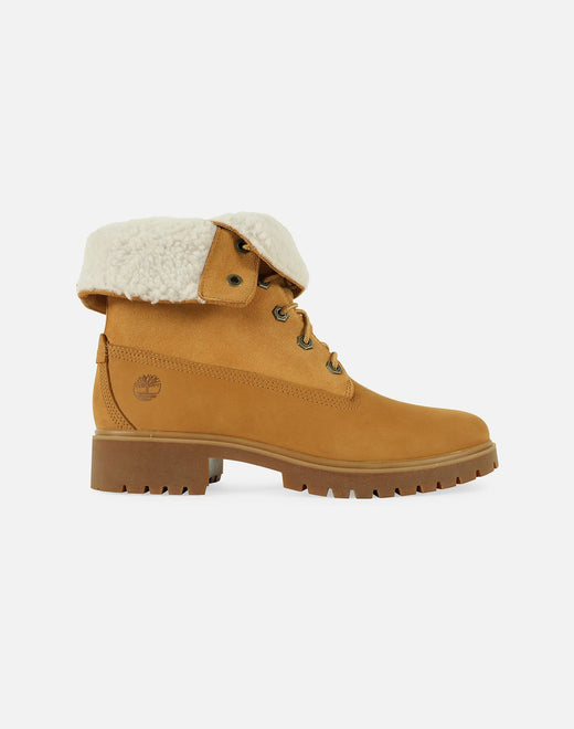 Timberland Women's Jayne Fold-Down Fleece Boots