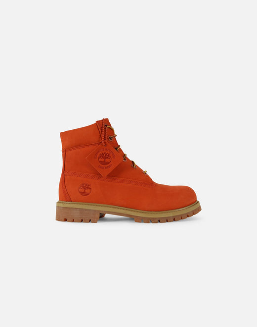 Timberland x DTLR Exclusive 6-Inch Premium Waterproof 'Orange Blaze' Boots Pre-School
