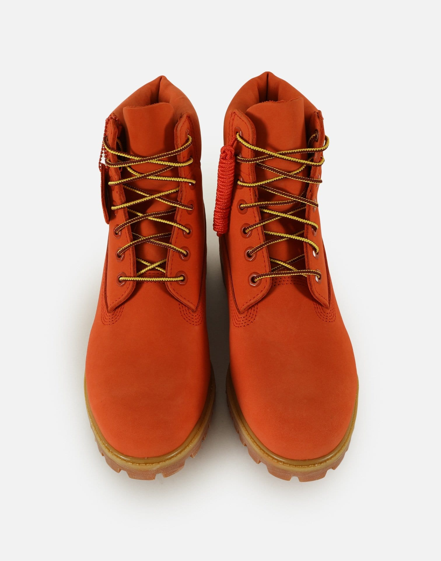 Timberland x DTLR Exclusive Men's 6-Inch Premium Waterproof 'Orange Blaze' Boots