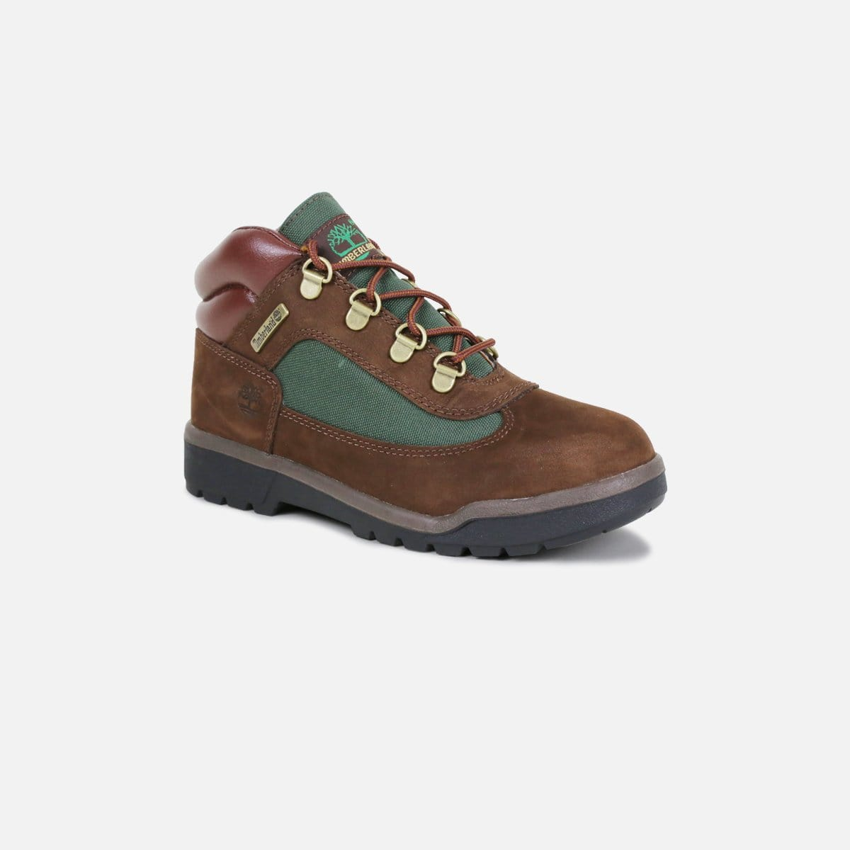 Timberland Field Boot Pre-School (Brown/Forest Green)