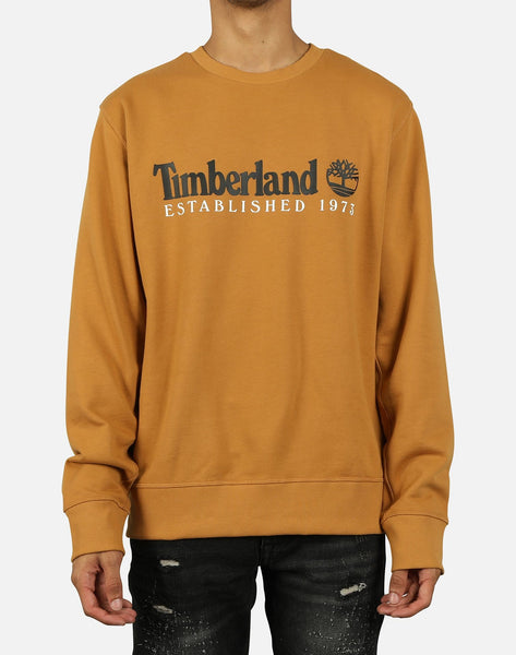 Timberland Men's Essential Established 1973 Crew Sweatshirt