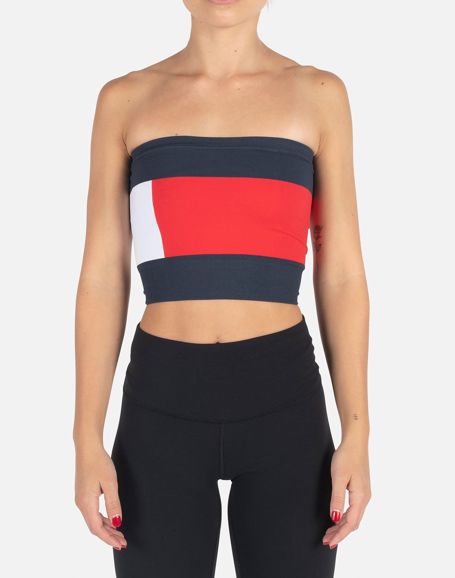 Tommy Hilfiger Women's Flag Tube Top