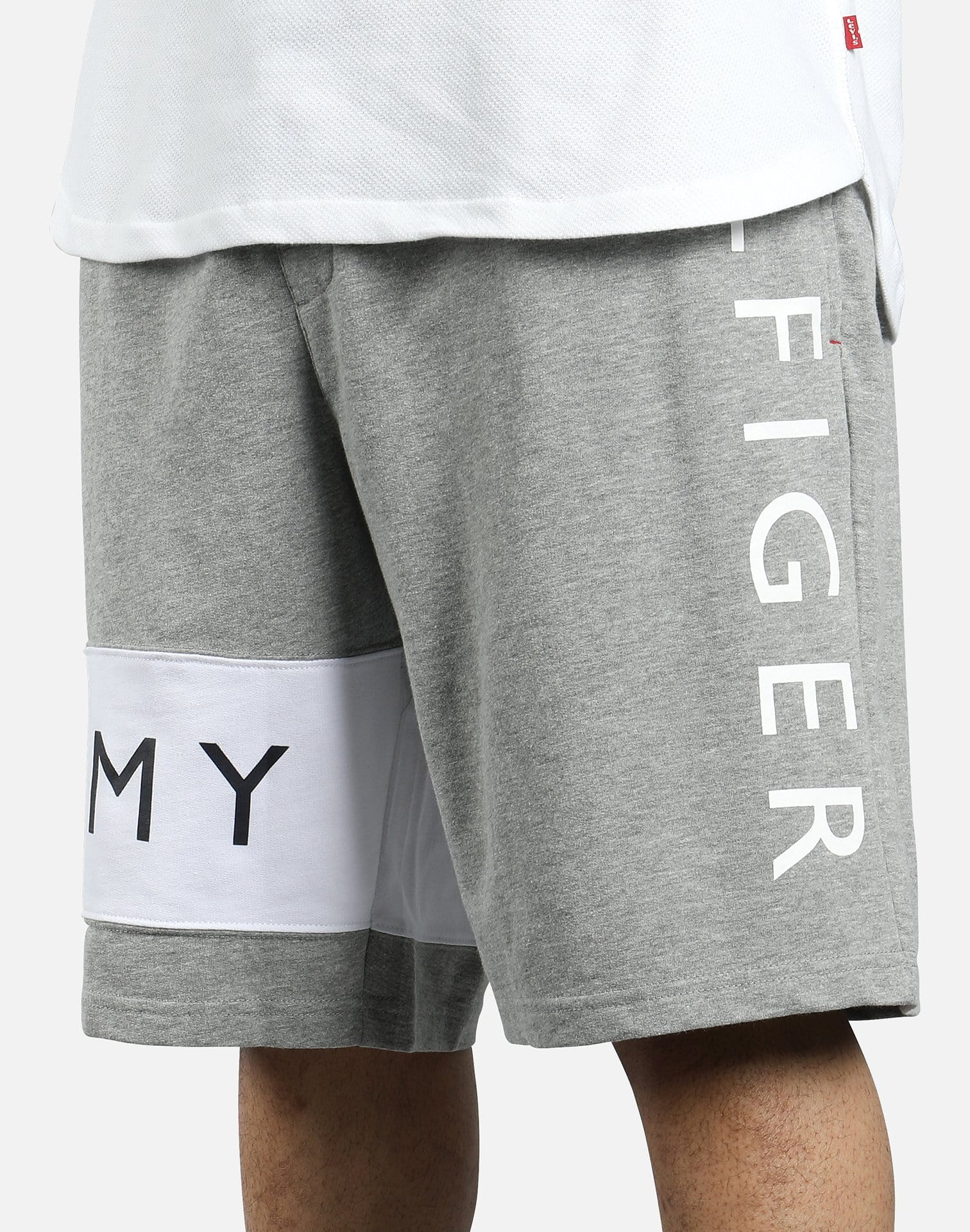 Tommy Hilfiger Men's Modern Essentials Logo-Print French Terry Shorts