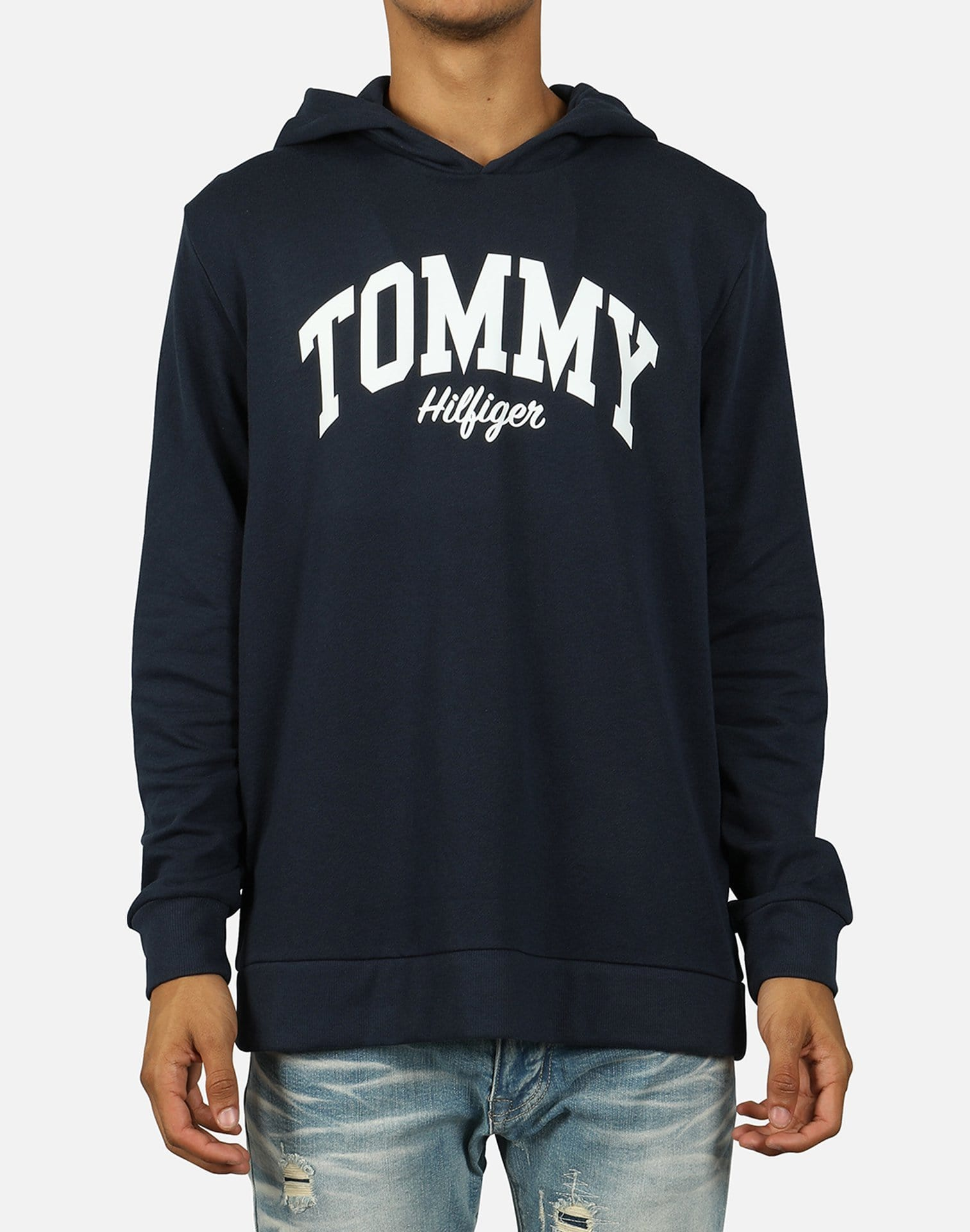 Tommy Hilfiger Men's Brushed Back Fleece Hoodie