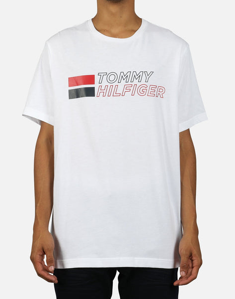 Tommy Hilfiger Men's Retro Logo Tee