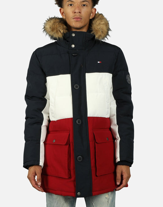 Tommy Hilfiger Men's Arctic Cloth Full Length Jacket