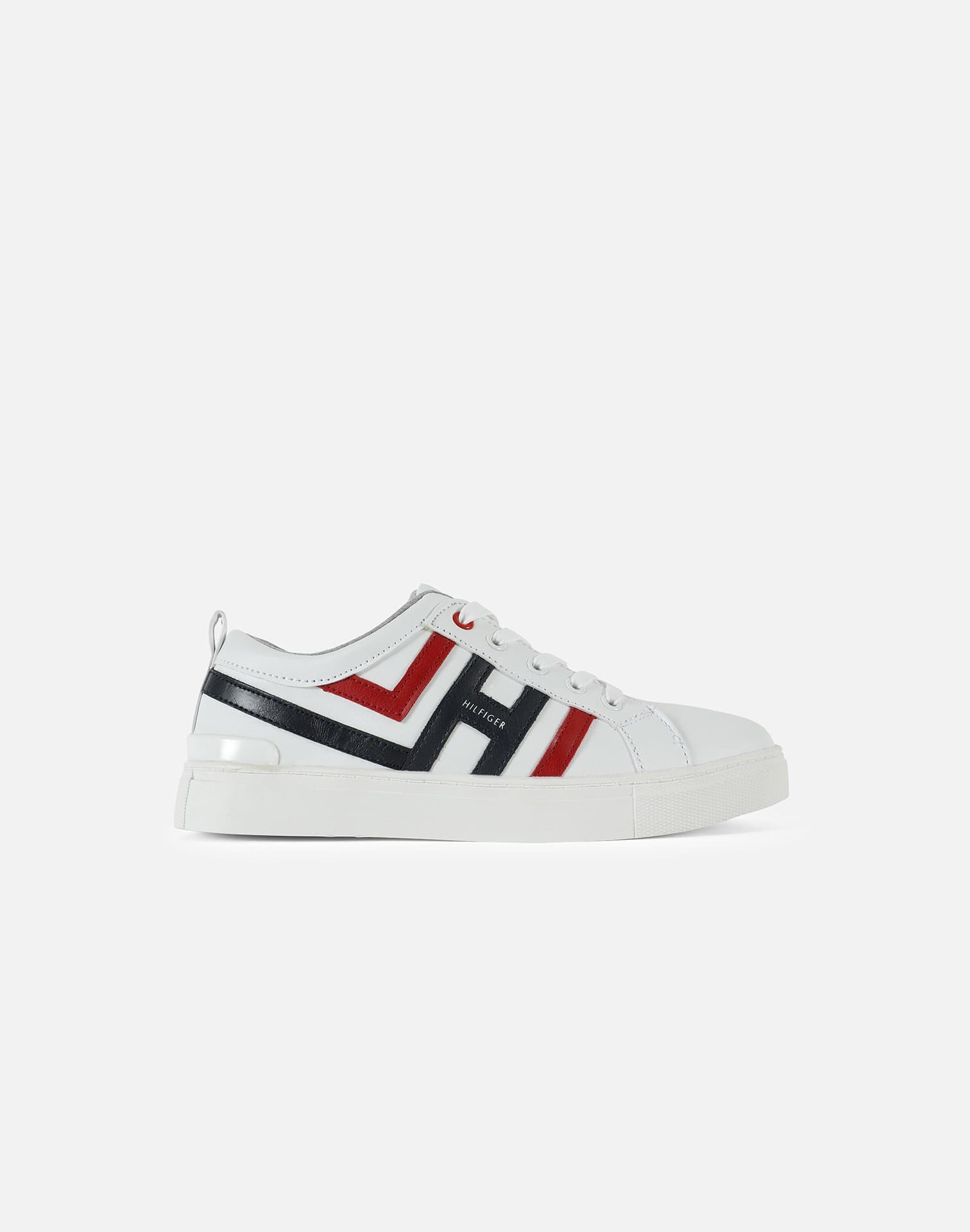 Tommy Hilfiger Boys' Hilfiger Leather Pre-School