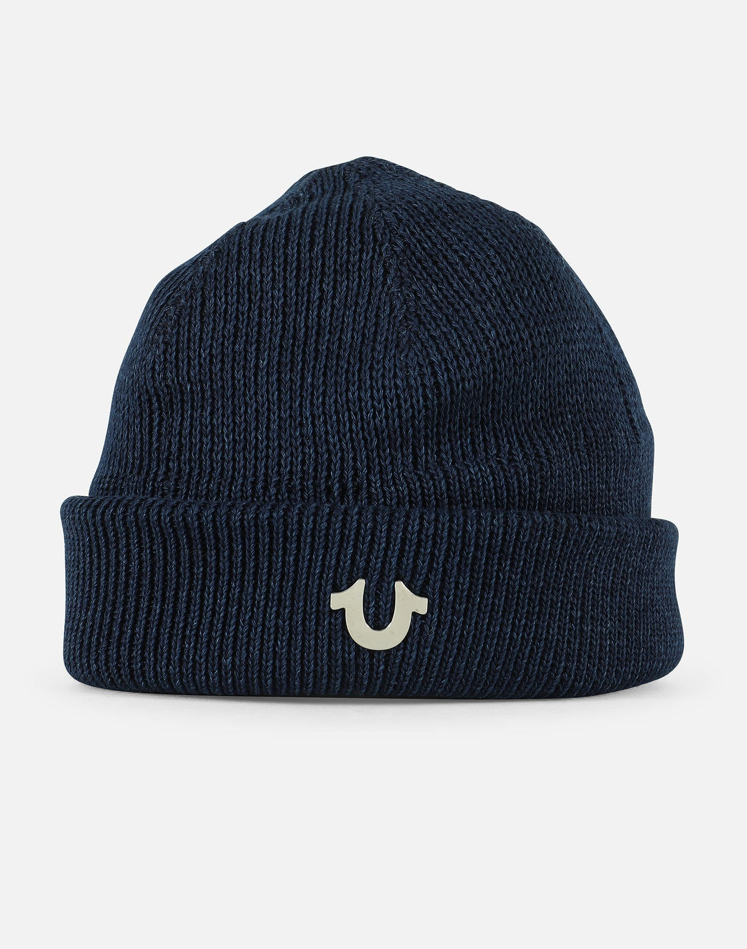 True Religion Short Ribbed Knit Watchcap