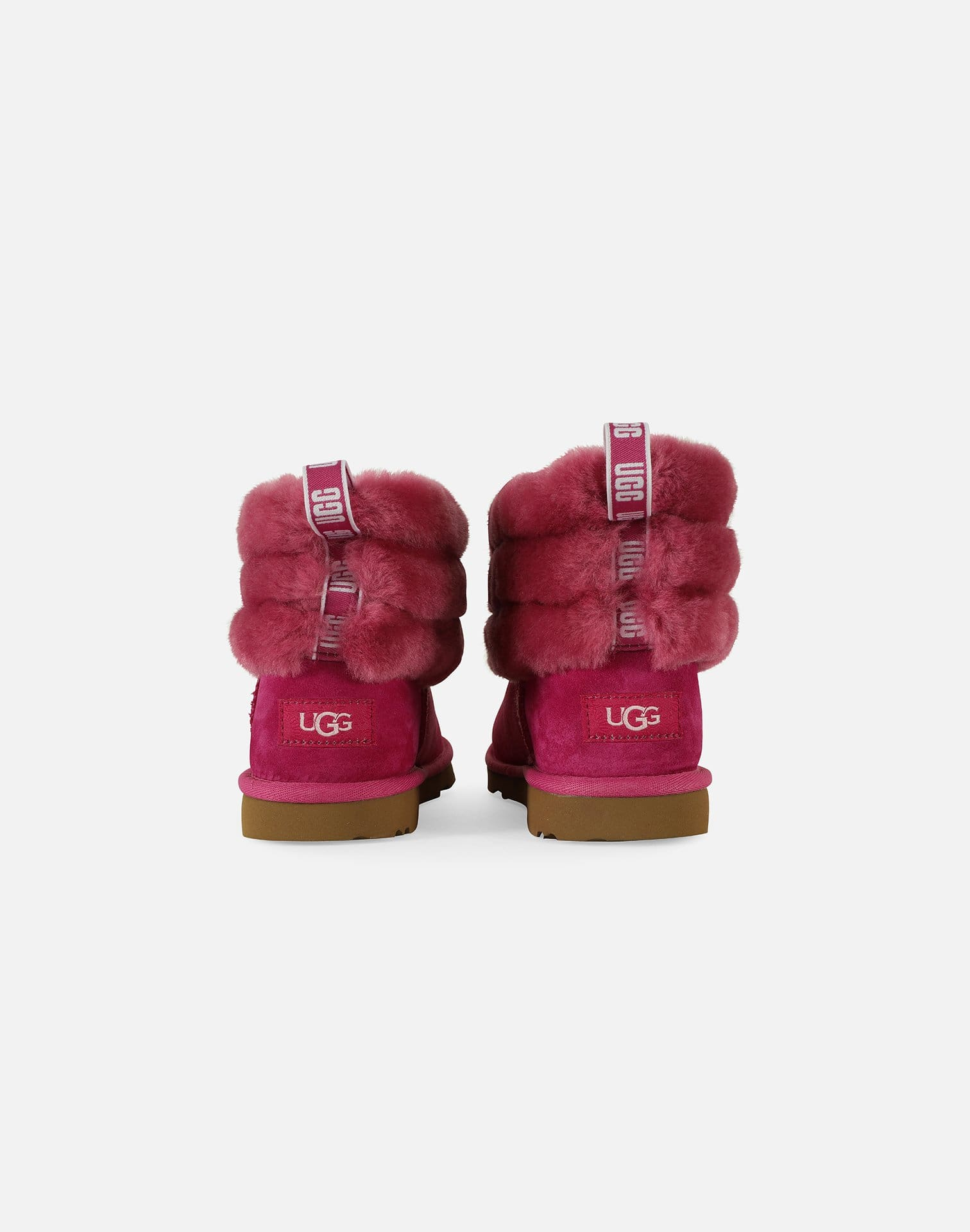 UGG Fluff Mini Quilted Logo Boots Pre-School