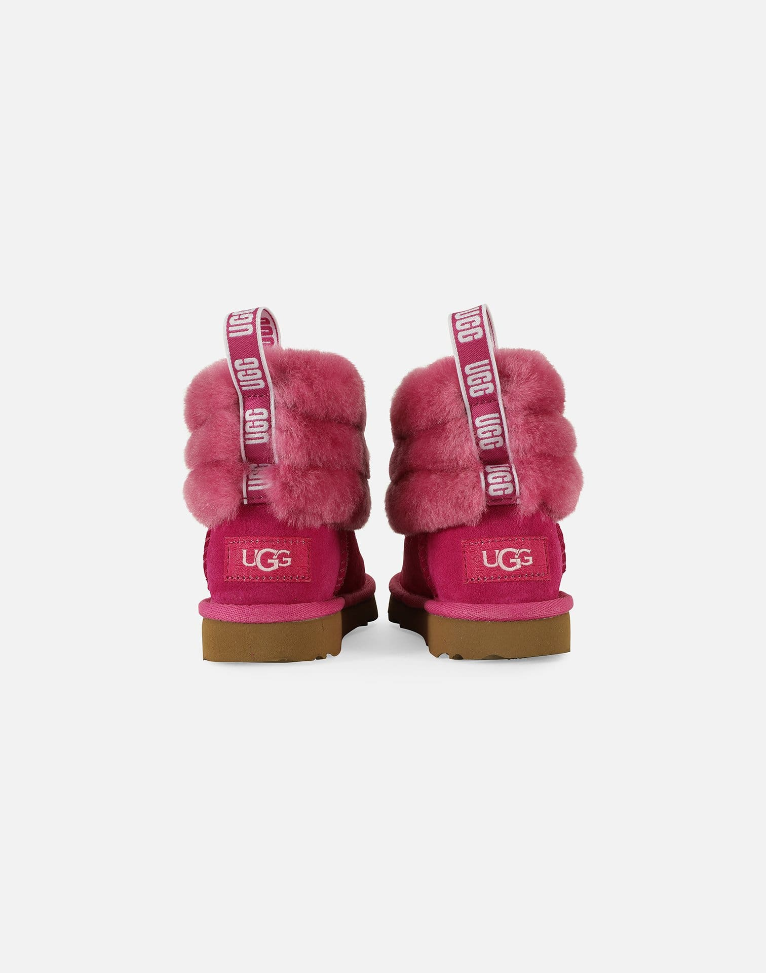 UGG Fluff Mini Quilted Logo Boots Infant