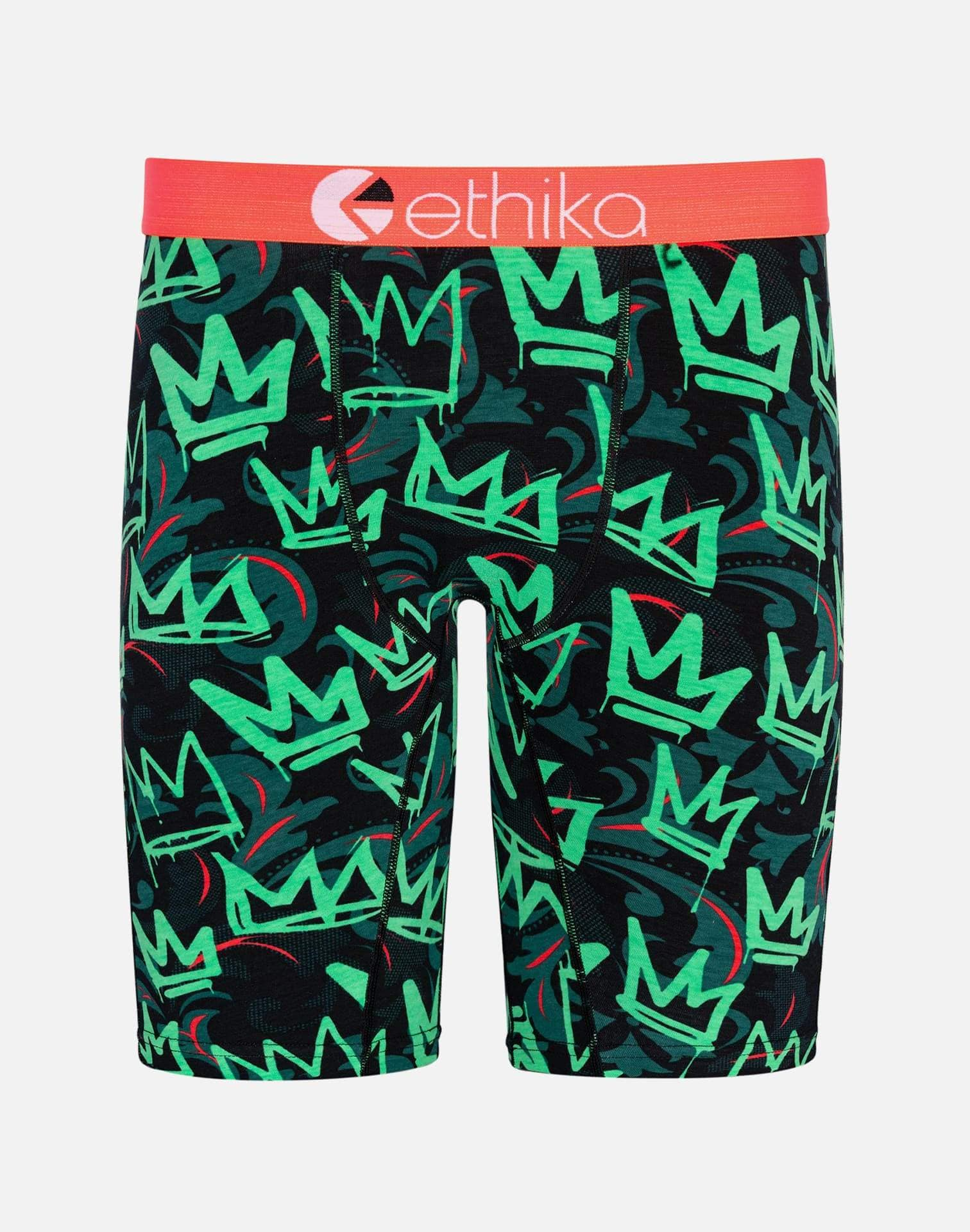Ethika Men's Crown the Kings Boxer Briefs