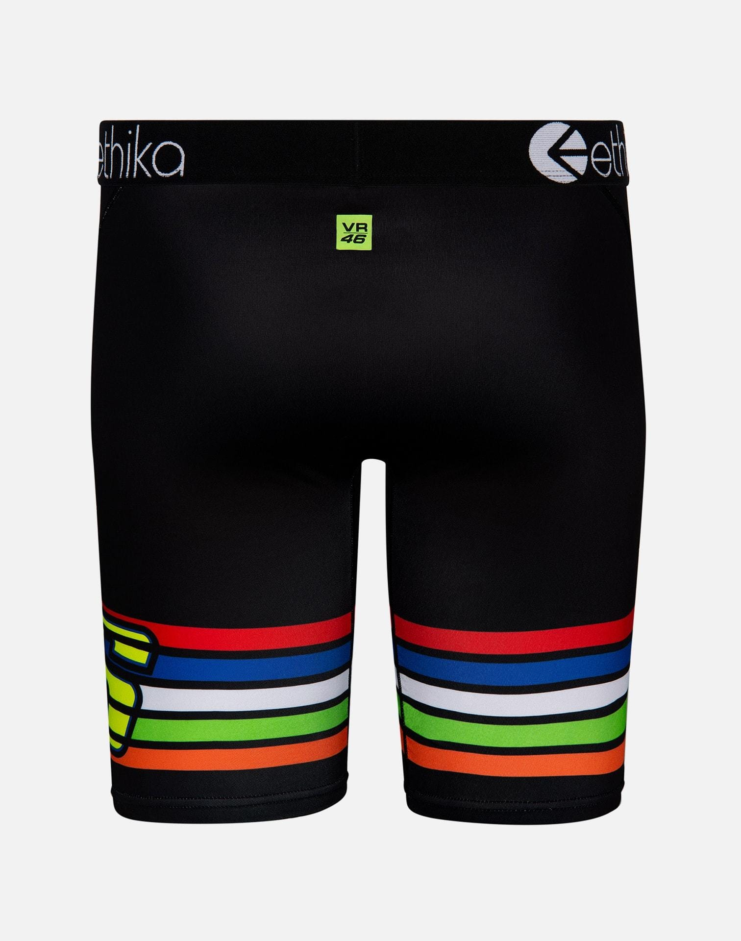 Ethika Men's Stripes Boxer Briefs