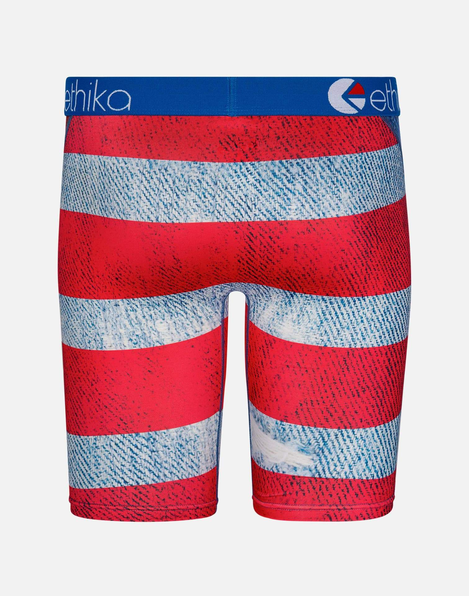 Ethika Men's Denim Flag Boxer Briefs
