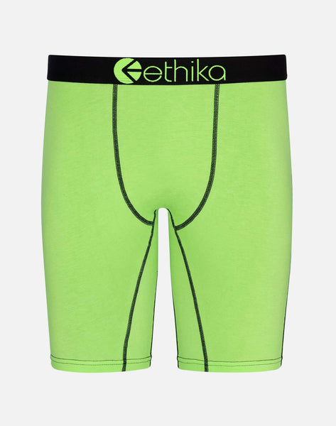 Ethika Men's Solid Highlight Boxer Briefs