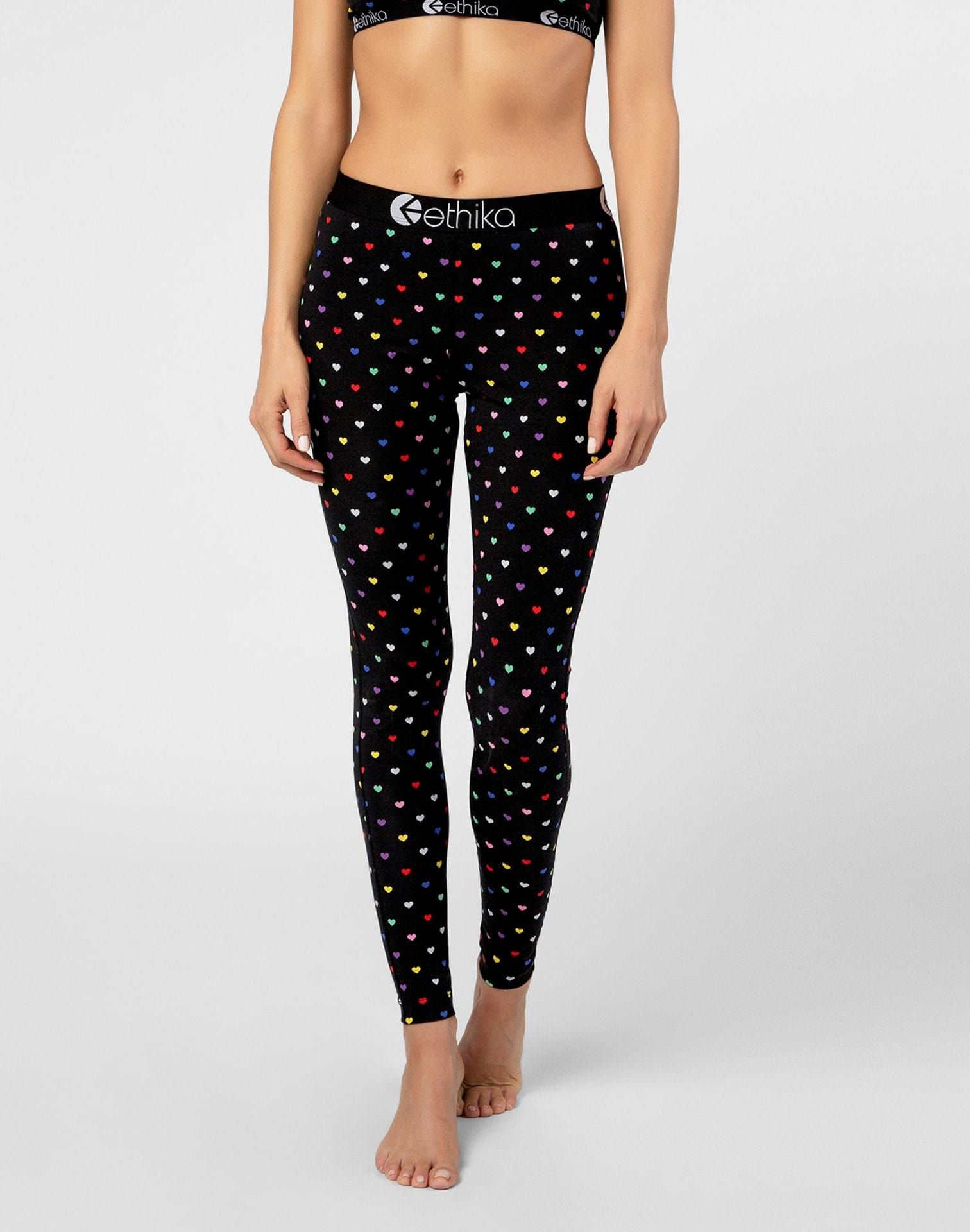 Ethika Women's XOXO Hearts Leggings