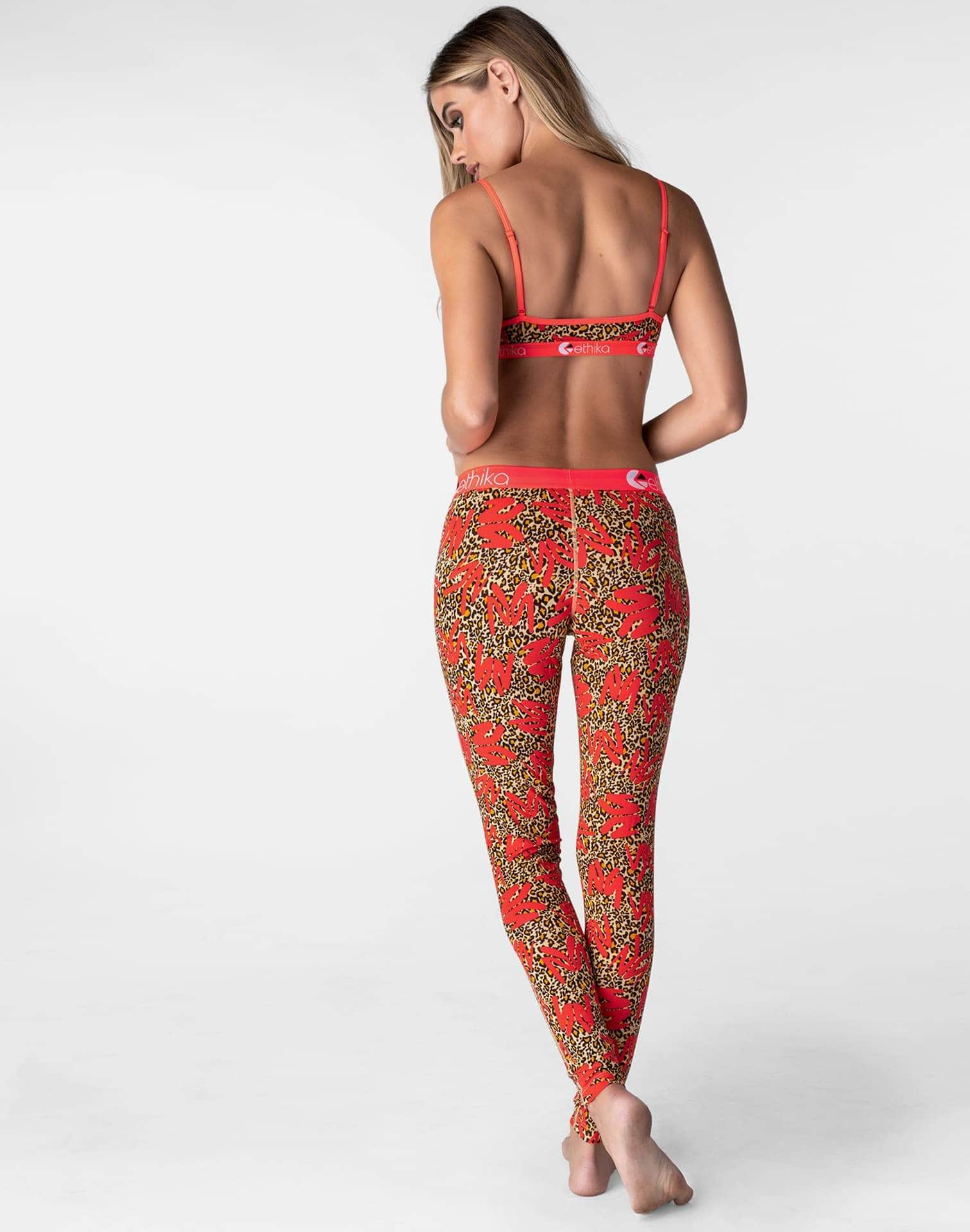 Ethika Women's Leopard Leggings