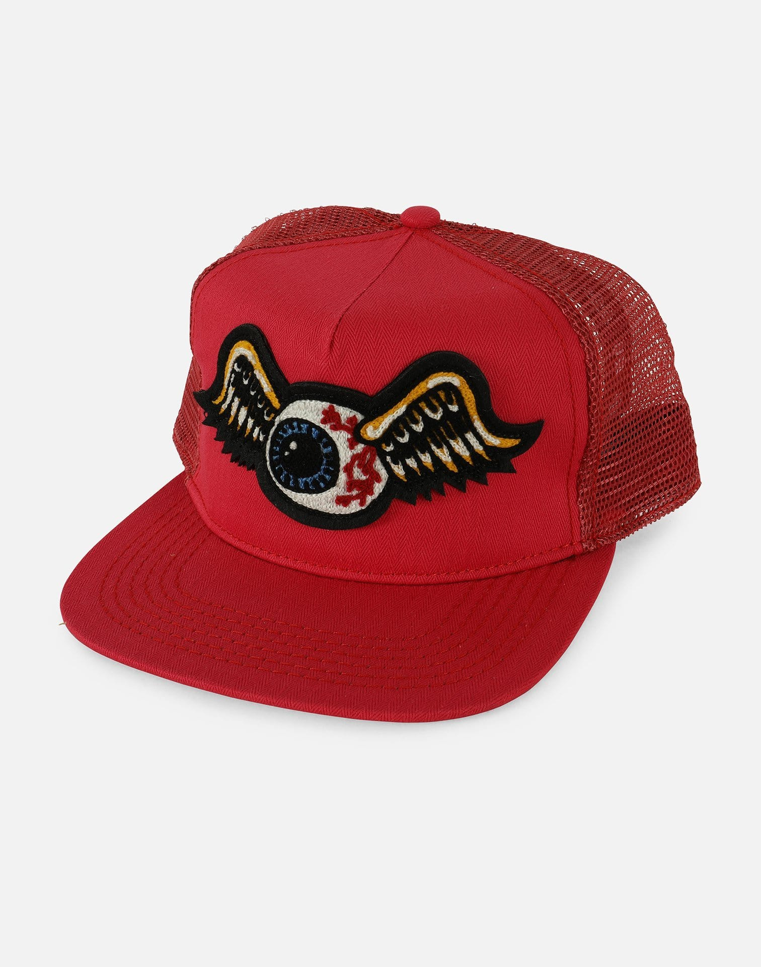 Von Dutch Flying Eyeball Trucker Snapback Hat