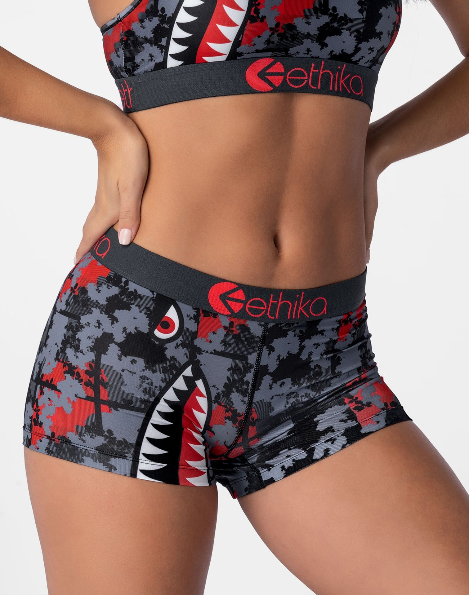 Ethika Women's Bomber Boy Shorts